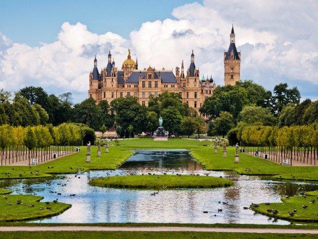 Duitsland - de Schwerin - tuin