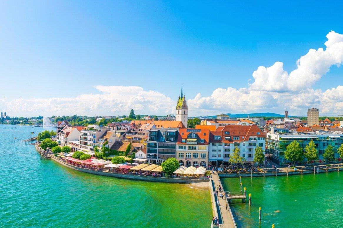Duitsland - de Bodensee - Friedrichshafen