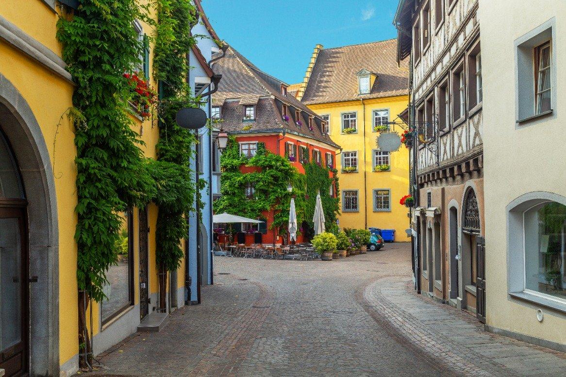 Duitsland - de Bodensee - Meersburg