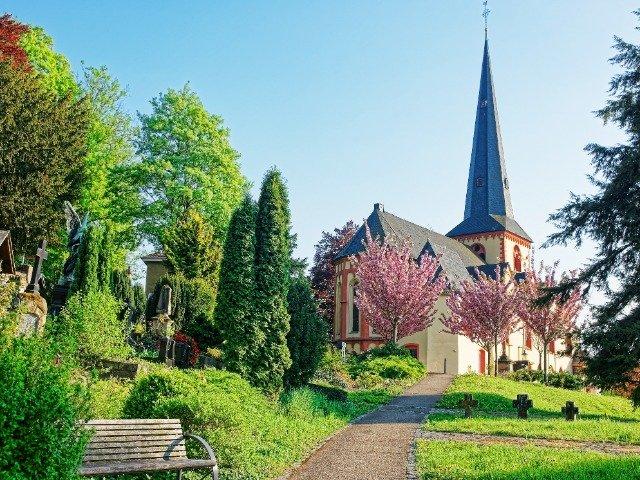 Duitsland - Linz am Rhein - St Martin Church