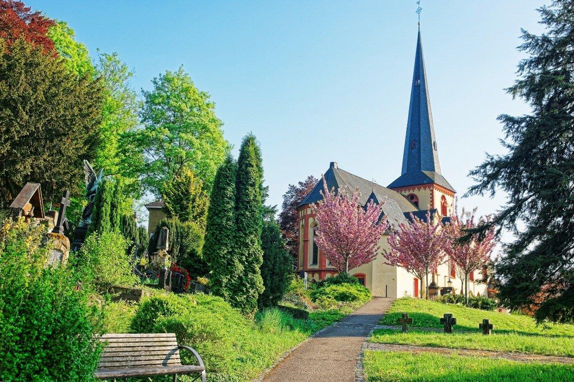 Duitsland - Linz am Rhein - kerk