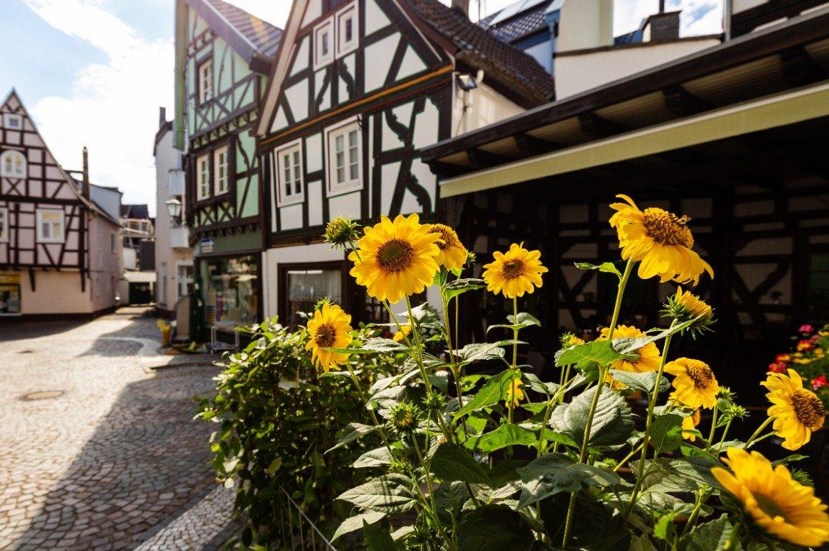 Duitsland - Linz am Rhein - centrum