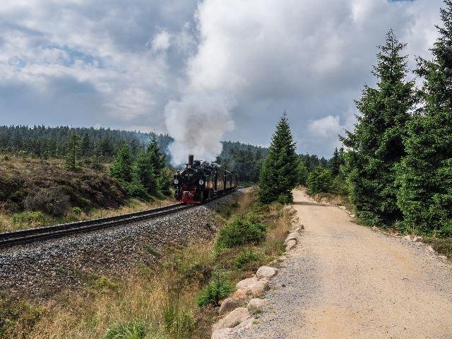 Duitsland - Harz - lokomotief
