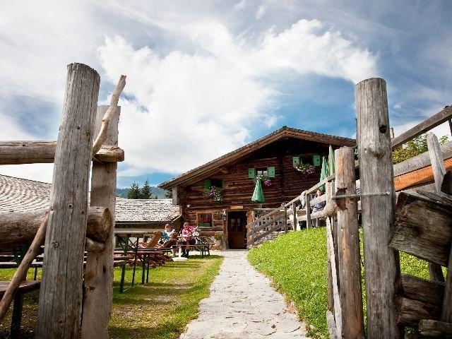 Oostenrijk - Salzburgerland - almhut