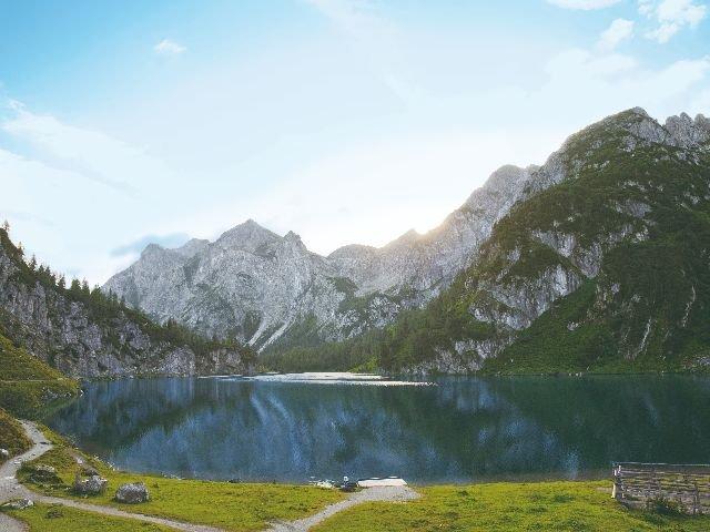 Oostenrijk - Salzburgerland - bergsee
