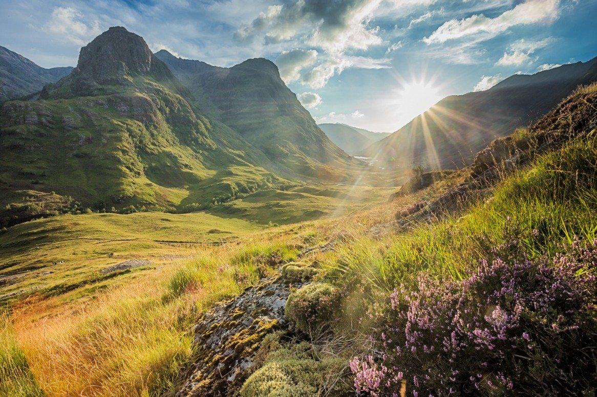 Schotland - Glencoe - uitzicht
