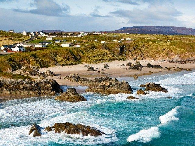 Schotland - Sango Bay - strand