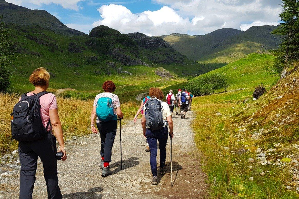 Schotland - Glenfinnan - wandelen