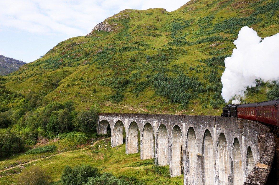 Schotland - Glenfinnan - lokomotief