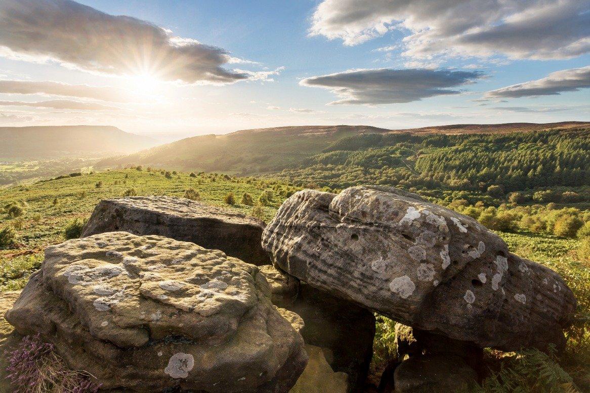 Schotland - vallei van Scugdale