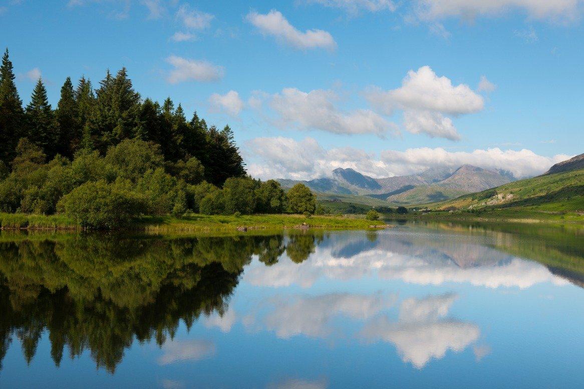 Wales - Snowdonia nationaal park - uitzicht