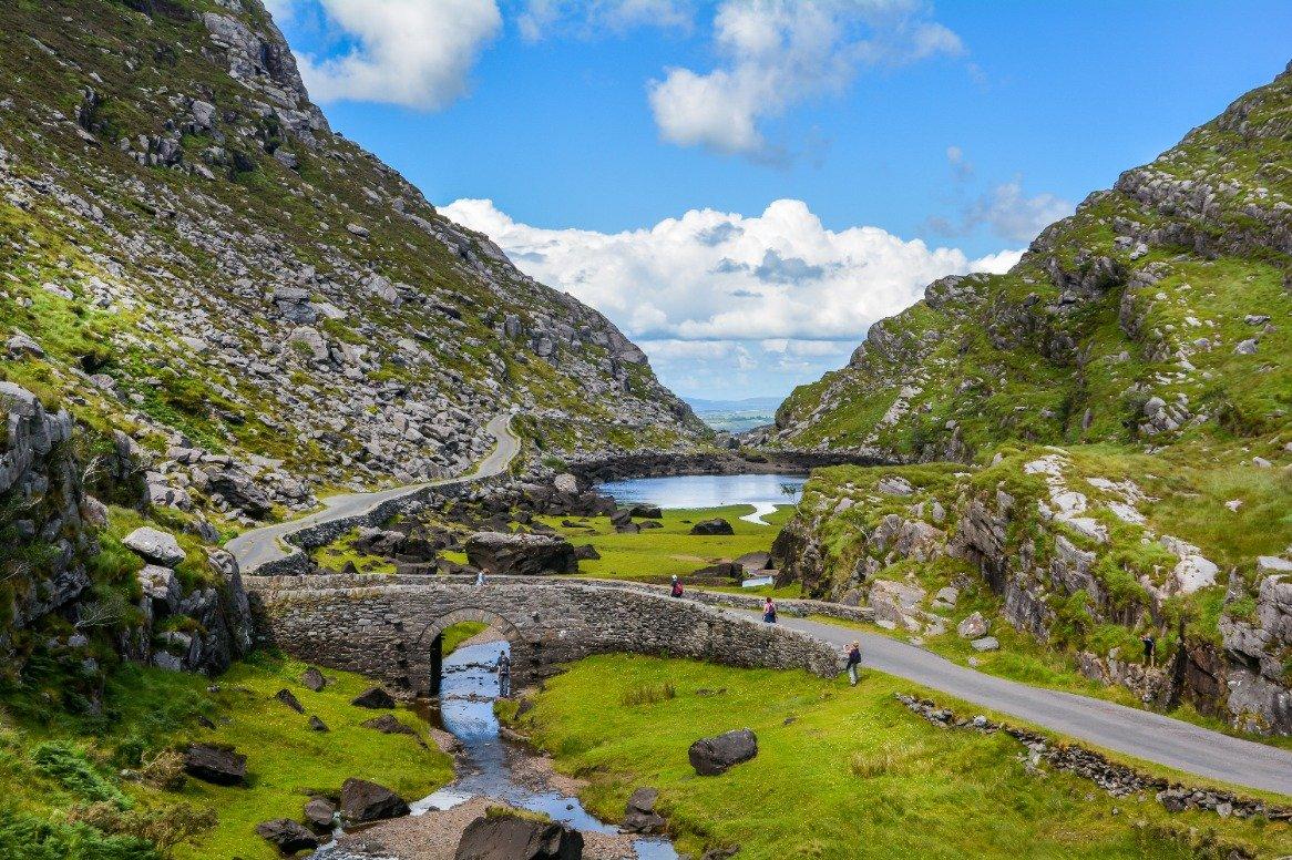 Ierland - Gap of Dunloe - uitzicht