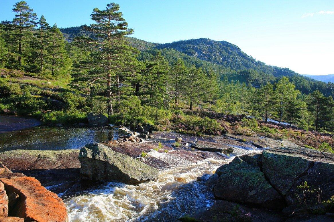 Noorwegen - Eikerapen - Agder waterval