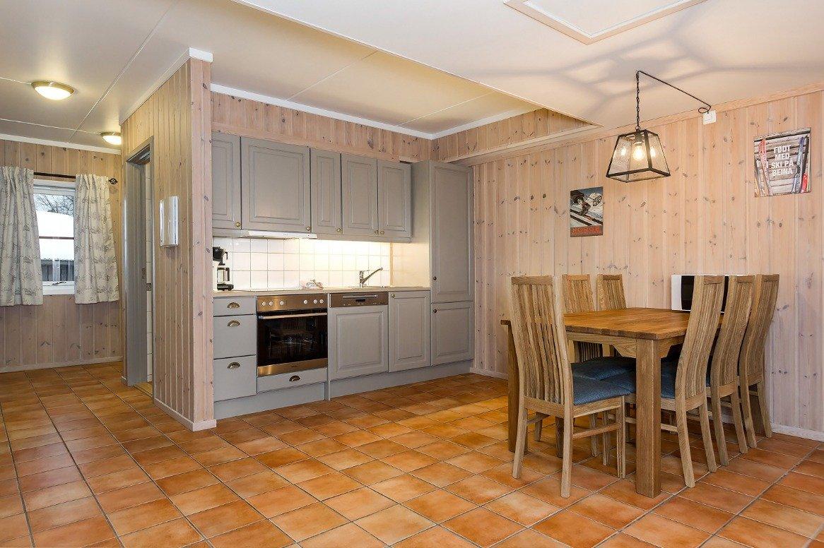 Hemsedal - Mølla Brua Appartementen - keuken