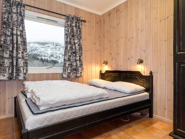 Hemsedal - Mølla Brua appartementen - slaapkamer