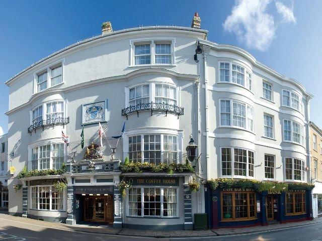 Barnstaple - The Royal & Fortescue Hotel - vooraanzicht