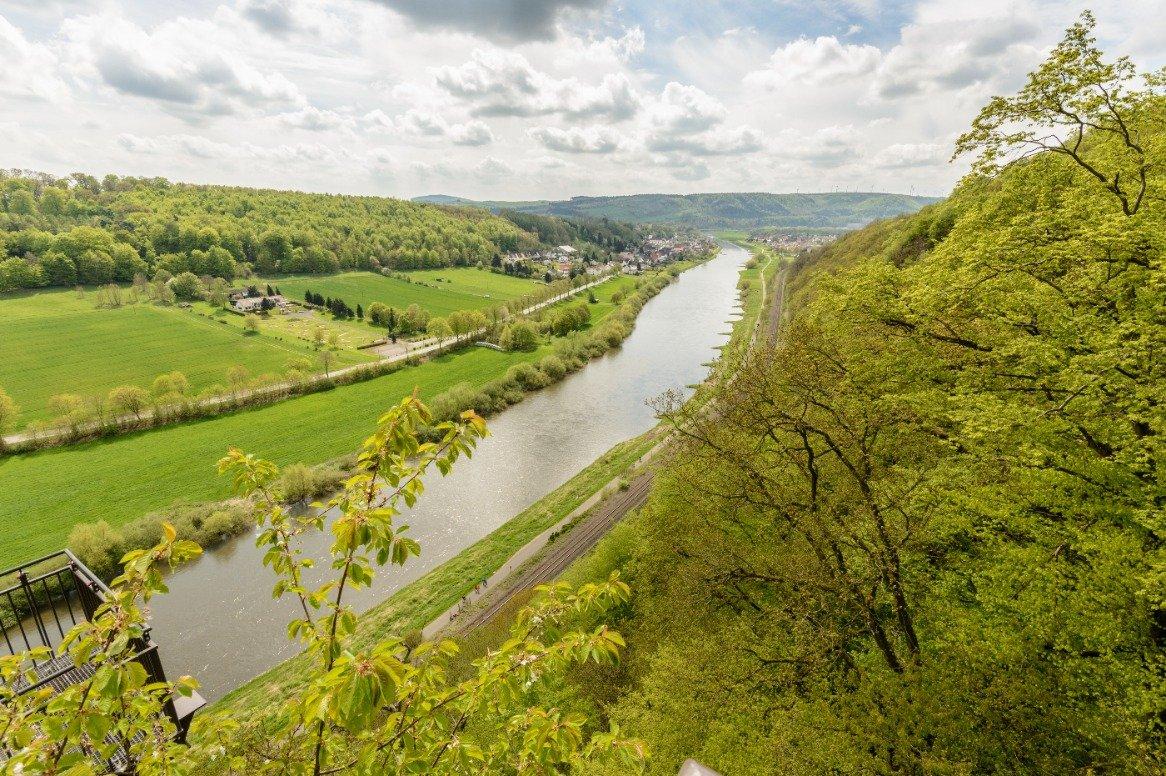 Van Amsterdam naar Bremen - rivier de Weser