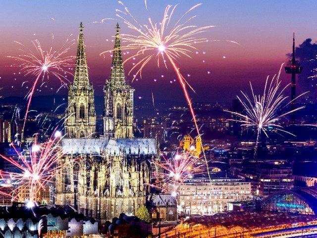 Nieuwjaarscruise over de Rijn - Keulen