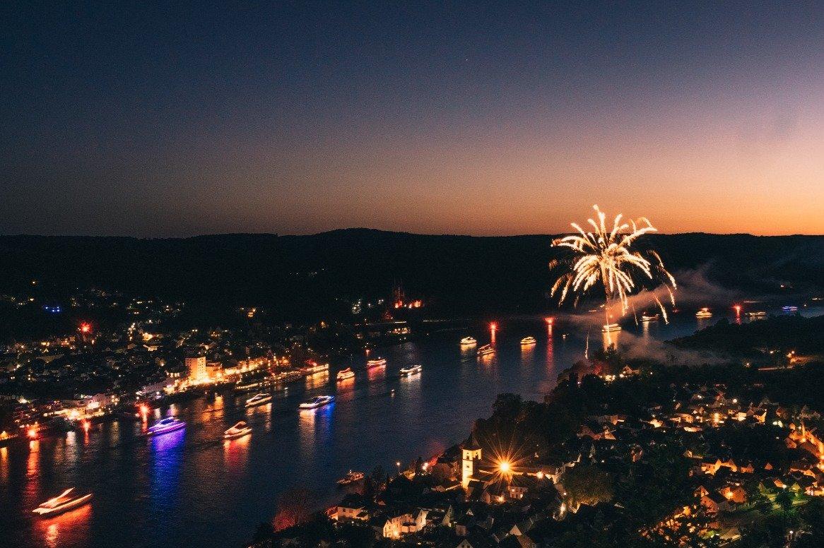 Nieuwjaarscruise over de Rijn - de Rijn