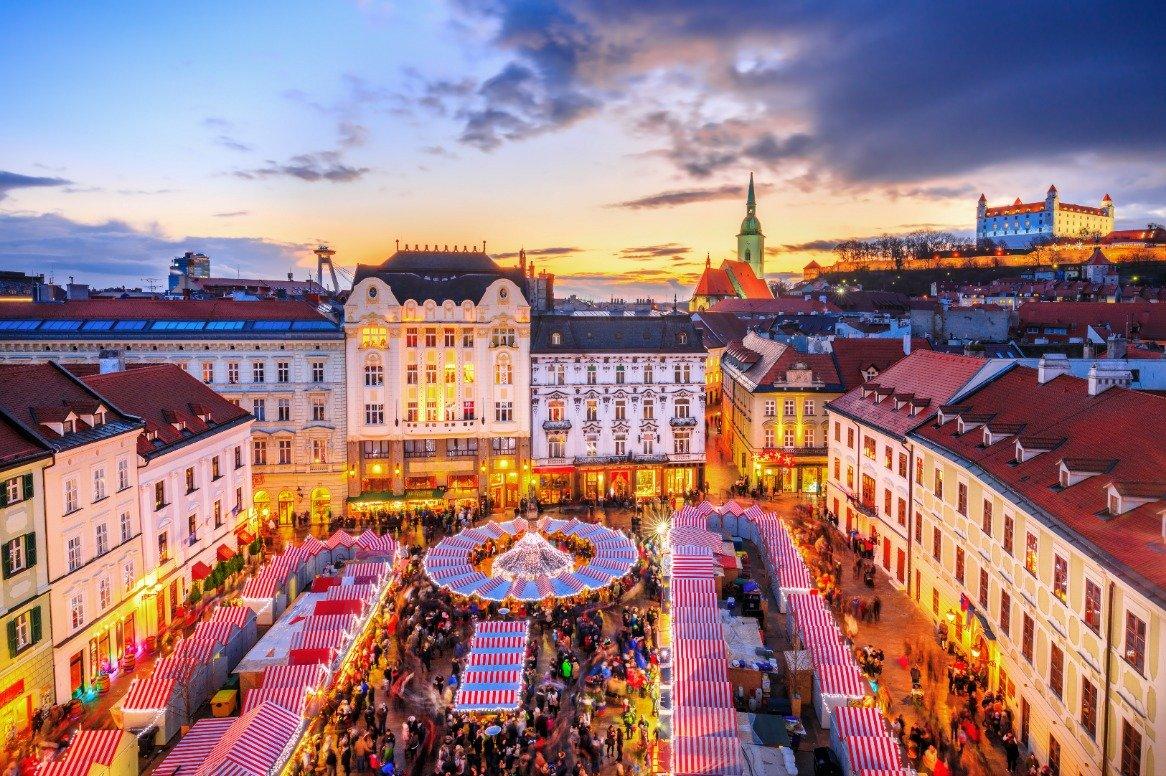 Kerstcruise over de Donau - Bratislava