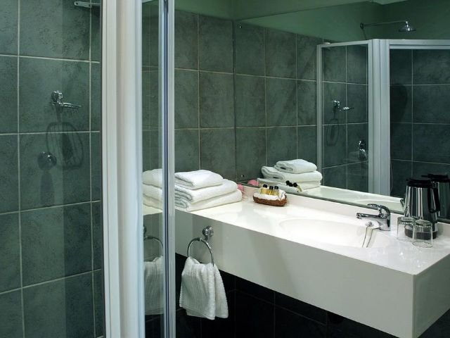 hotel numbi - badkamer