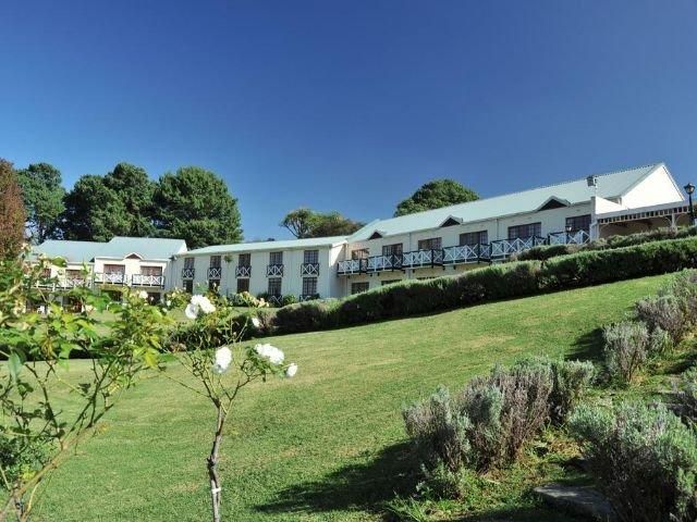 mont aux sources hotel - vooraanzicht