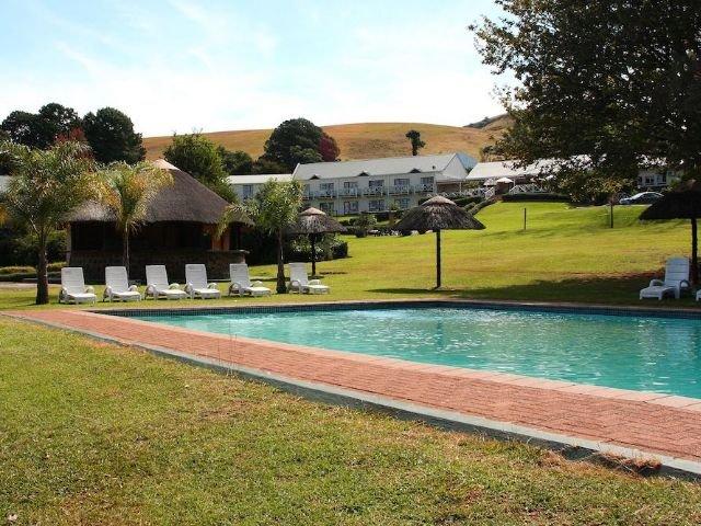 mont aux sources hotel - zwembad