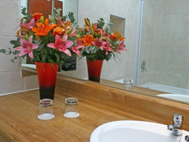 oudtshoorn inn hotel - badkamer