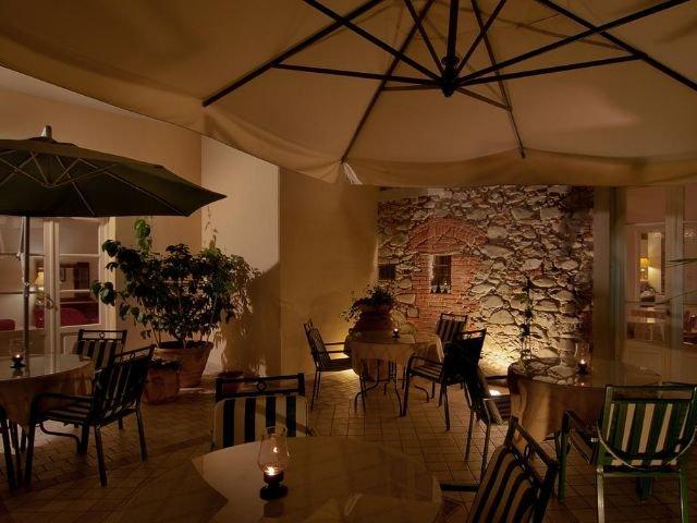 Montecatini Terme - Hotel Arnolfo *** - terras