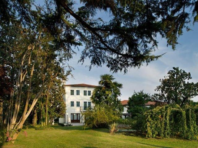 Treviso - Villa Pace Park Hotel Bolognese **** - tuin