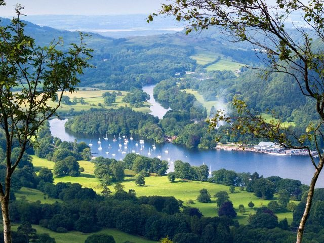 Groot-Brittannië - Lake District - Windermere