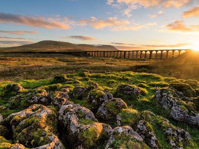 Groot-Brittannië - Yorkshre Dales NP – Ribblehead Viaduct