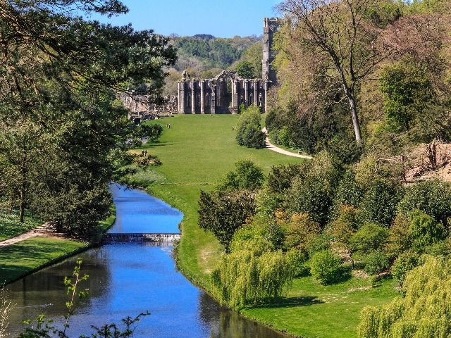 Groot-Brittannië - Ripon – Fountain Abbey – Studley Royal Water Park