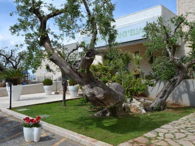 Fasano - Park Hotel Sant'Elia *** - hotel aanzicht