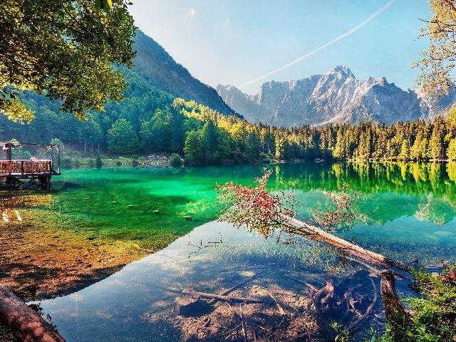 Lago Fusine