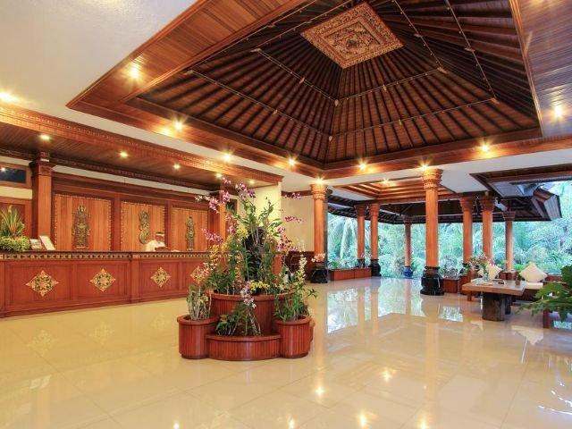 bhuwana ubud hotel - receptie
