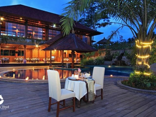 bhuwana ubud hotel - restaurant