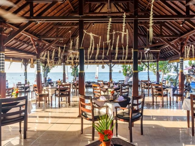 adi assri beach resorts and spa - restaurant