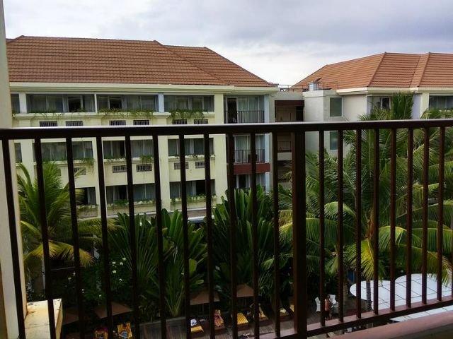 swiss-belresort watu jimbar - balkon