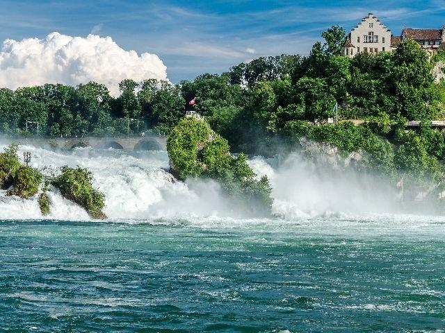 Duitsland - Het zwarte woud - Schaffhausen waterval