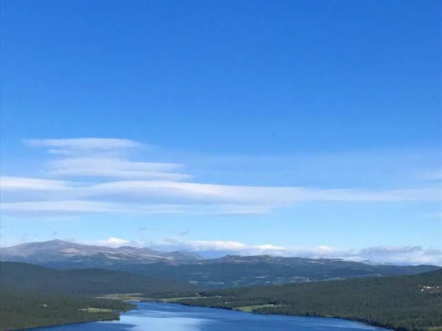 Noorwegen - Gala - Wadahl Hoghfjells Hotel - uitizicht vanuit de panoramakamers