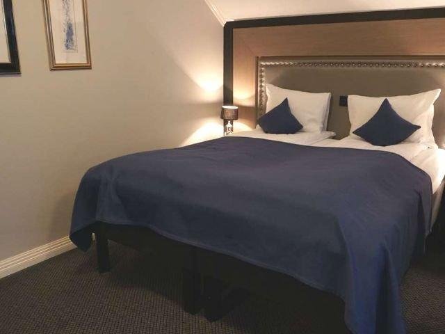 Noorwegen - Ulvik - Brakanes Hotel  - voorbeeldkamer