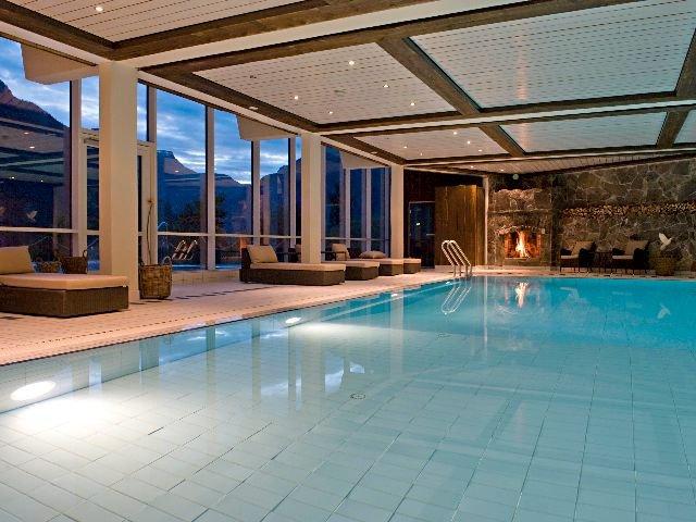 Noorwegen - Ulvik - Brakanes Hotel - zwembad