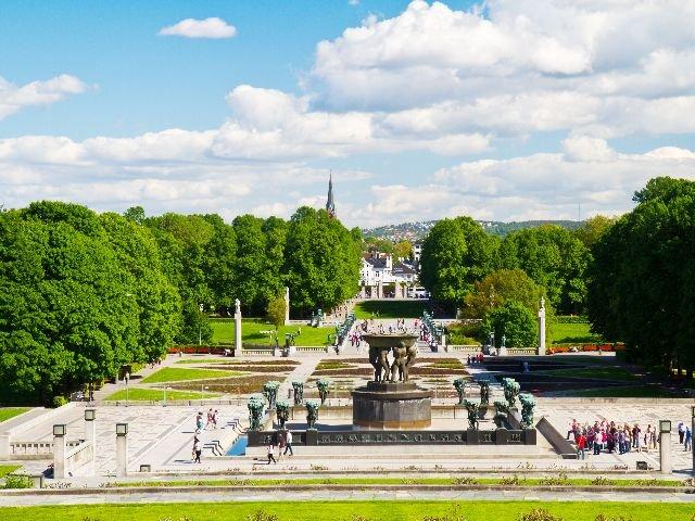 Noorwegen - Oslo - Vigeland beeldenpark