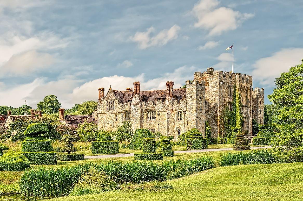 Engeland - Hever Castle & Gardens