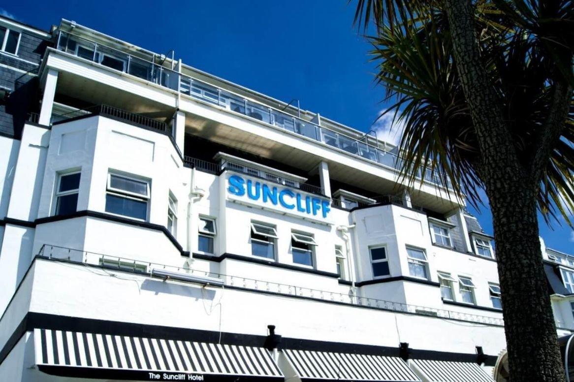 Engeland - Bournemouth - Suncliff Hotel - Exterieur