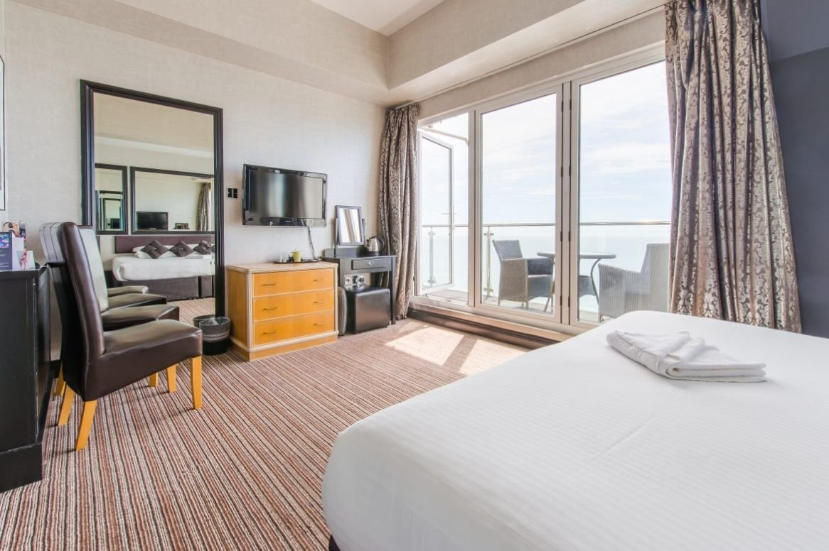 Engeland - Bournemouth - Suncliff Hotel - Voorbeeldkamer