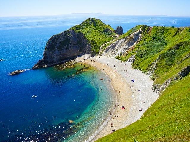 Engeland - Lulworth Cove - Jurrassic Coast - Dorset