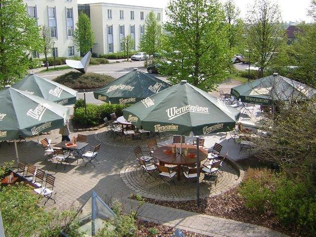 Meerane - Hotel Meerane **** - biergarten