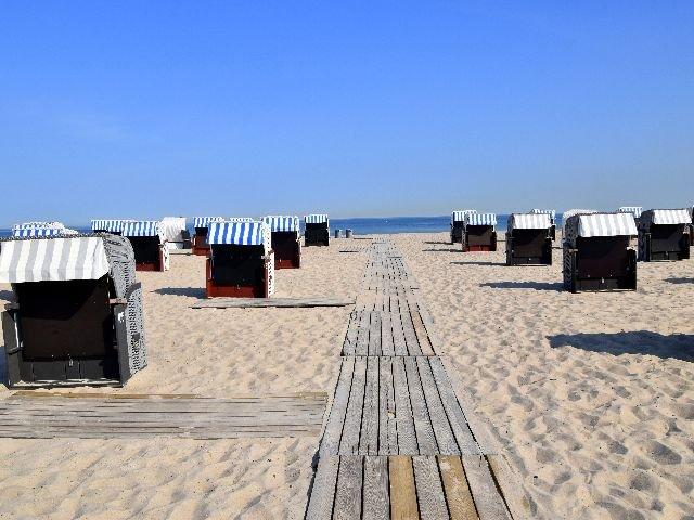 Duitsland - Strand Warnemünde